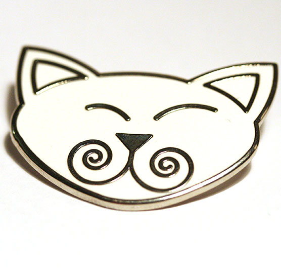 Viking Cats brooch / Viking Cats broche 40 x 30 mm.